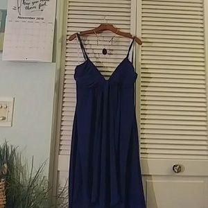 2 for $35 Colbolt Blue and Grey Sheer Dress